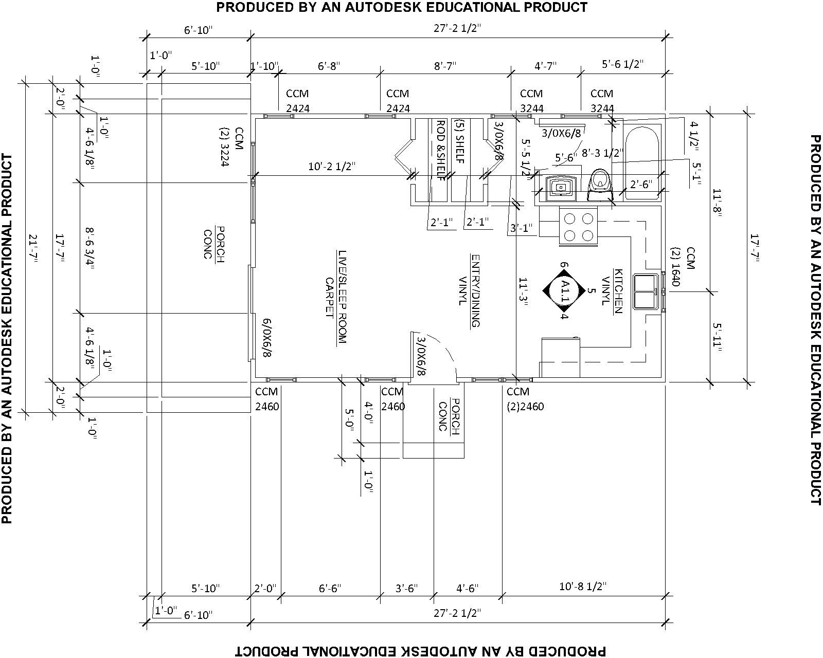 how to make a floor plan in autocad | Woodworking Camp and Plans